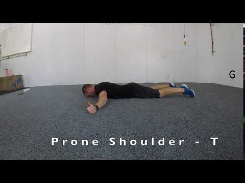 Prone Shoulder - T