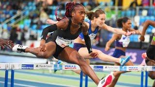 Liévin 2020 : Finale 60 m haies F (Cyréna Samba-Mayela en 8''06)