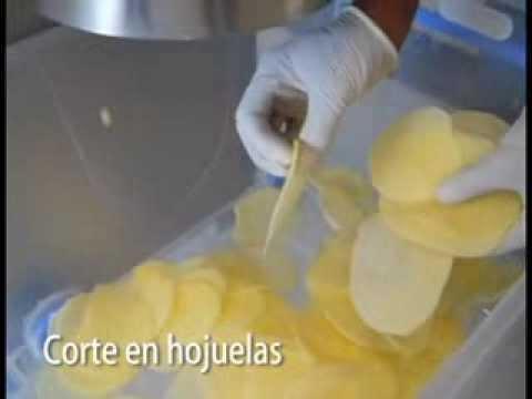 Vulcano, Picadora prueba con camote y papa/ Slicer & Strip cutting machine: Potato and Sweet Potato