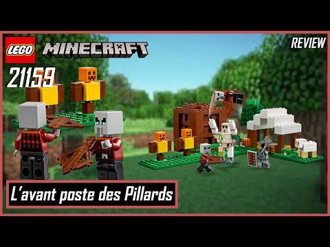 Vidéo LEGO Minecraft 21159 : L'avant-poste des pillards