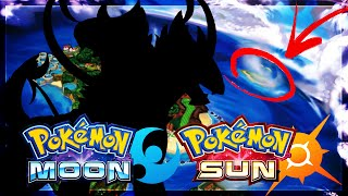 Marshadow  - (Pokémon) - Pokemon Sun and Moon: Mysterious Island on Alola Map + Third Legendary