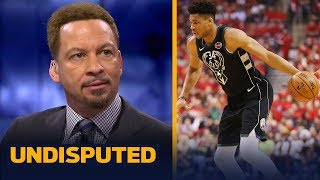 Chris Broussard breaks down Giannis' struggles in the Eastern Conference Finals | NBA | UNDISPUTED