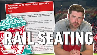 Liverpool FC to Trial Rail Seating in The Kop   Redmen TV Reaction