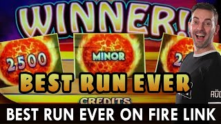 BEST. RUN. EVER. 🔥 Ultimate Fire Link at Choctaw Casino in Durant