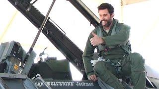 Хью Джекман, Хью попробовал себя в роли второго пилота, американского истребителя F-16