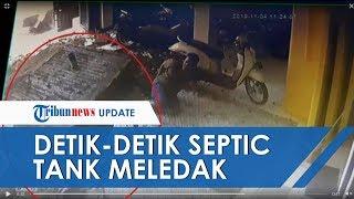 Video Detik-detik Petugas Sedot WC Tewas setelah Septic Tank Meledak, Penutup sampai Terlempar