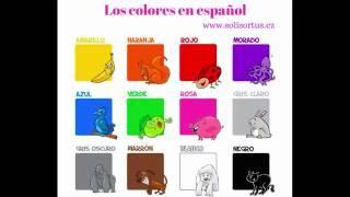 Jak jsou španělsky barvy, aneb los colores en español :)