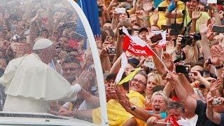 Papa Francisco chegou à Polônia