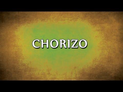 Chorizo | RECIPES | EASY TO LEARN