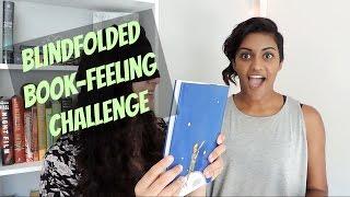 Blindfolded Book-Feeling Challenge!