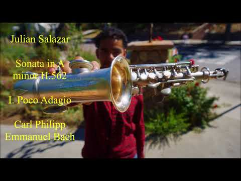 Bach on Saxophone