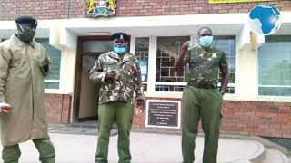 It is not true that all officers did not do well in their KCSE exams