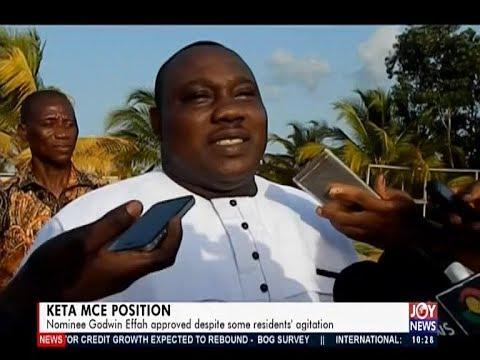 Keta MCE Position - News Desk on JoyNews (26-3-19)