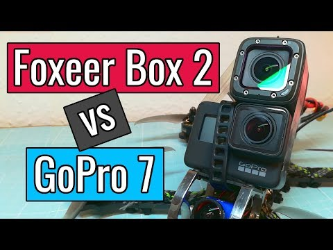 Foxeer Box 2 vs GoPro 7 Hero Black - Side by Side Comparison