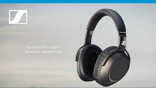 YouTube Video ZUXPZSPLARw for Product Sennheiser PXC 550-II Wireless Headphones by Company Sennheiser in Industry Headphones