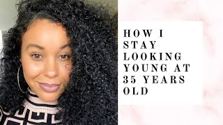 How I stay looking young at 35 years old   ((MUST WATCH))