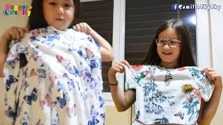ThyThy Đọc Tiếng Việt/  Hai Chị Em Mở Quà Bạn Mẹ Tặng