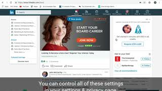 The importance of sharing and varying posts on LinkedIn