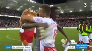 Ligue 1 : Victoire du Stade de Reims face à Lyon