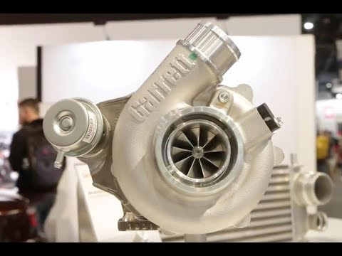 SEMA 2018: Garrett's New G25 Turbos Designed Specifically for 1.8 to 3.0L Engines
