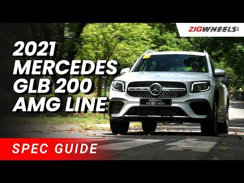 2021 Mercedes-Benz GLB 200 AMG Line Spec Guide