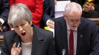 BREXIT CHAOS CLASH: Theresa May LOSES IT with Jeremy Corbyn on 30th June delay - 'It's a bit rich'