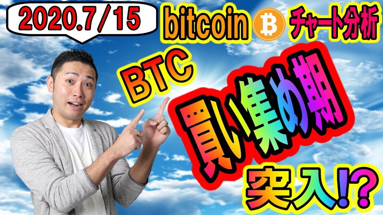 【仮想通貨】ビットコイン・チャート分析 買い集め期!?下落したらロングチャンスか!?現在はレンジ内で細かく利確が吉!! #ビットコイン #仮想通貨 #BTC