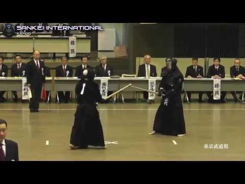Kendo「剣道」- Amazing Shiai - Tokyo Kendo Taikai - Final Match (Uchimura VS Shodai) [VID:20150905-V062]