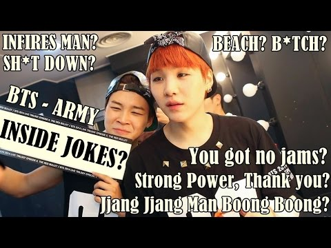 BTS - ARMY INSIDE JOKES #1 (Only BTS Stans Understand xD)