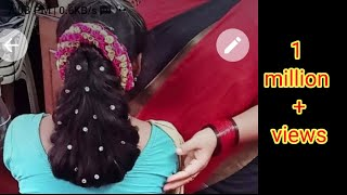 Simple hair style in few minutes full explanation in telugu
