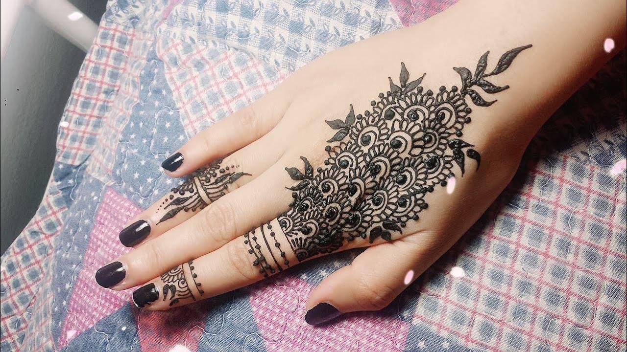 Video Diy Easy Mehendi Design For Fingers Tutorial 11 Henna