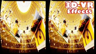3D BEST EFFECTS  ULTIMATE VR Videos 3D SBS [Google Cardboard VR] Virtual Reality