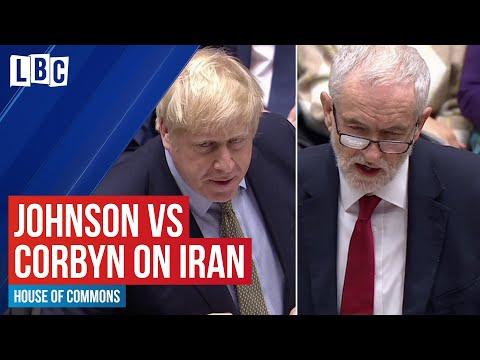Boris Johnson vs Jeremy Corbyn on the Iran US crisis | House of Commons