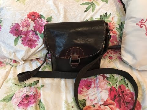 What's in my Jack Georges Crossbody Bag w/ Fossil Accessories