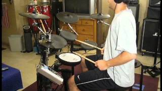 WELCOME by 311 -- DRUM COVER