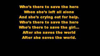Save the Hero- Beyonce   lyrics