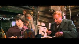 Harry Potter And The Chamber Of Secrets - Harrys First Time At The Weasleys Home (HD)