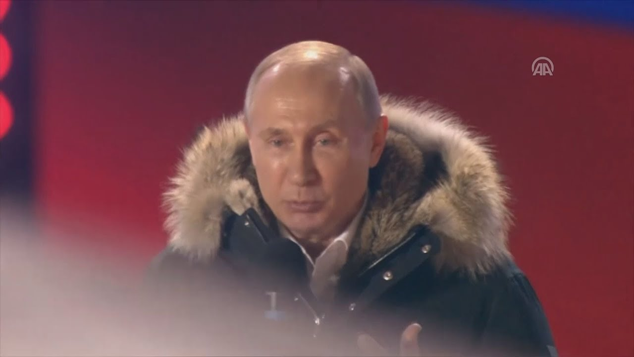 Επανεκλέγεται πρόεδρος της Ρωσίας ο Βλαντίμιρ Πούτιν με το 76,65% των ψήφων
