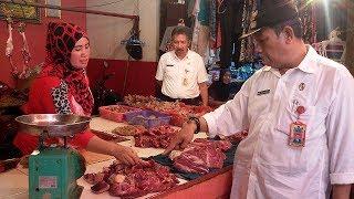 Lakukan Inspeksi Mendadak di Pasar, Ini yang Didapat Oleh Diseprindag Prabumulih