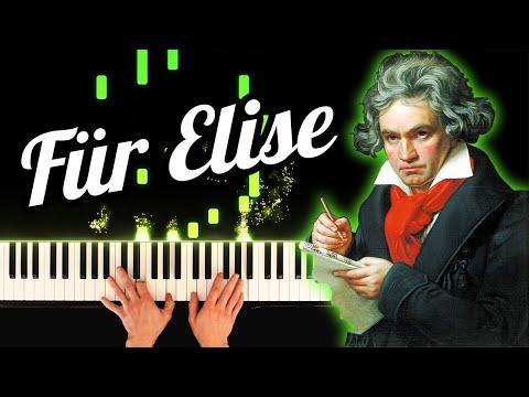 Beethoven - Für Elise [Morbius Trailer 2020] (Piano)