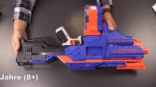 Nerf Strike Elite Infinus Blaster mit Dart Loader (Hasbro E0438EU4)