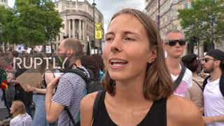 UK: 'Meat Consumption Is Immoral'   Animal Rights Activists March In London