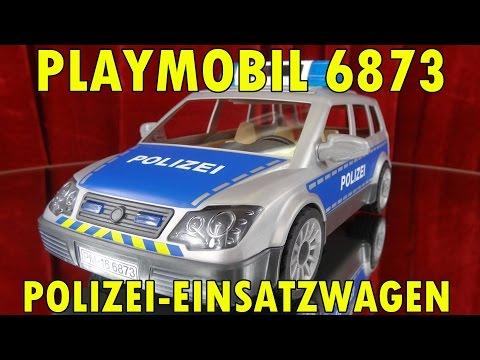 """""""PLAYMOBIL 6873 POLIZEI EINSATZWAGEN"""" -...und Peter hat  ne neue Mütze ;-)"""