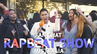 Fan Chat at RapBeat Show in Australia