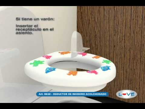 Reductor de inodoro 8828 - Love safe & care