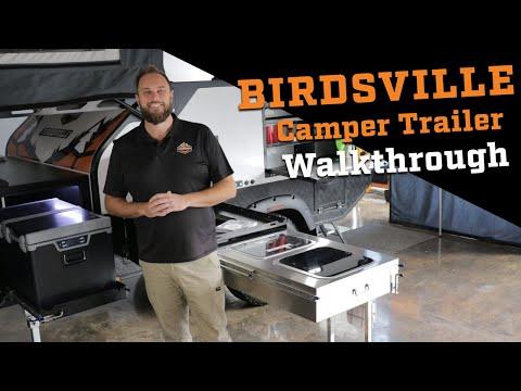 Birdsville Camper Trailer Walk-through