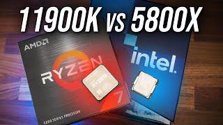 Intel i9-11900K vs AMD Ryzen 7 5800X - Best 8 Core CPU?
