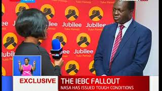 Raphael Tuju reacts to the leaked IEBC memo