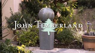 Ball and Pillar Fountain