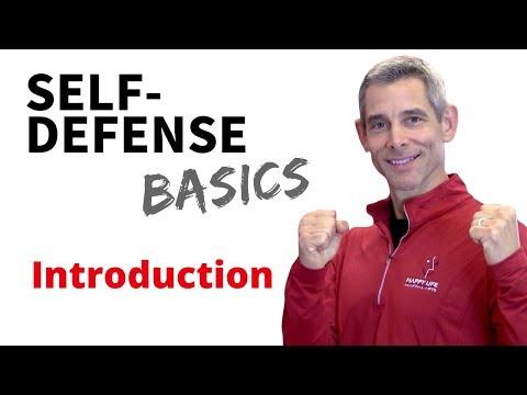 Self-Defense Basics Course - Welcome!